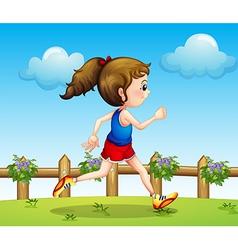 A runner vector