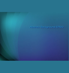 abstract blue curve background vector image