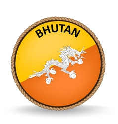 Bhutan Seal vector image