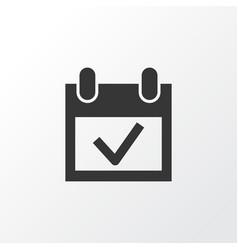 event icon symbol premium quality isolated vector image