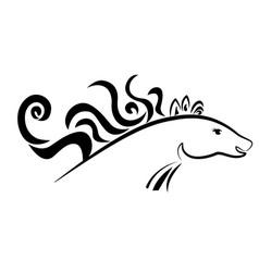 horse animal vector image