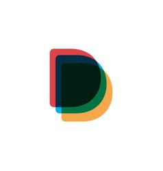 luxury logotype premium letter b logo with modern vector image