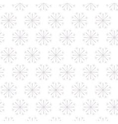 Snowflake of Merry Christmas design vector image