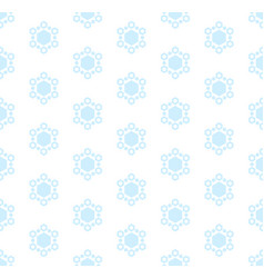 subtle winter seamless pattern with snowflakes vector image