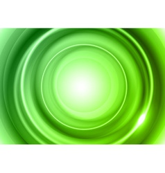 Background green light center big vector
