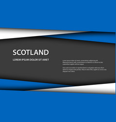 Background with scottish colors vector