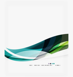 Modern creative curve background with copy space vector