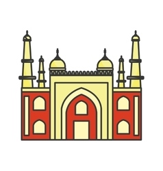 mysore palace india vector image