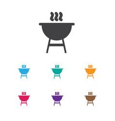 Of trip symbol on kebab icon vector