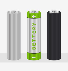 Realistic aa type battery vector