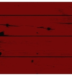 Red Painted Wood vector