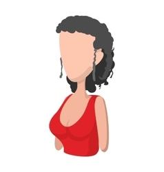 Spaniard icon cartoon style vector image