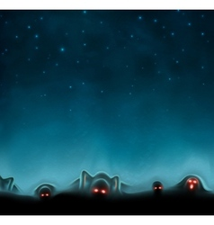 Mystical background vector image vector image