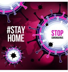 Coronavirus covid19-19 sars-cov-2 social media vector