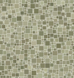 Grey square mosaic background vector