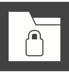 Locked Folder vector