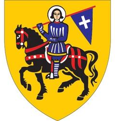 Lugnez coat-of-arms vector