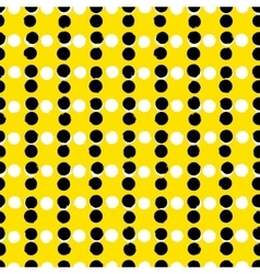 Simple striped geometric pattern with dots vector