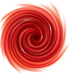 Spiral liquid surface red color vector