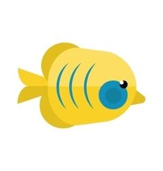 Reefs fish vector image vector image