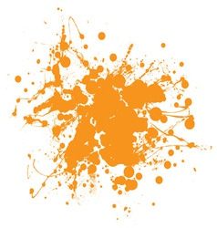 abstract ink splat vector image