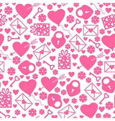 val pattern vector image vector image