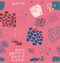 Abstract watercolour seamless pattern print vector