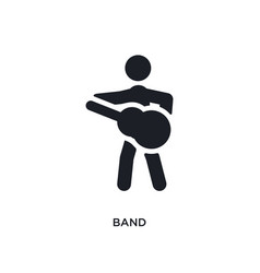 Band isolated icon simple element from ultimate vector