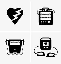 Defibrillator vector