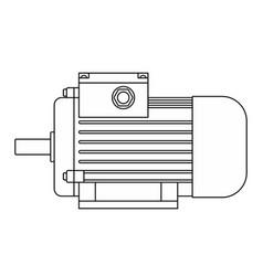 Electric motor contour vector