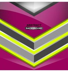geometric violet background design vector image