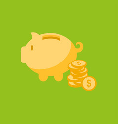 moneybox icon vector image