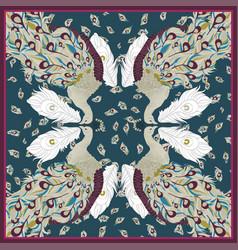 pavlin scarfs vector image