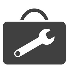 Service toolkit flat icon symbol vector