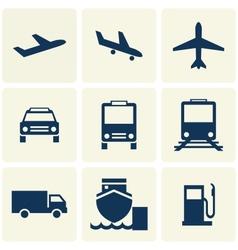 Transport icon vector