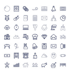 49 image icons vector