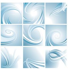 curve set vector image
