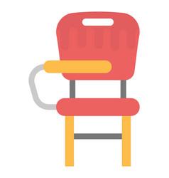 Desk chair vector