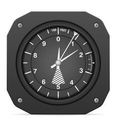 Flight instrument altimeter vector
