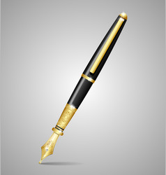 Luxury pen vector image