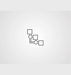 ontology icon sign symbol vector image