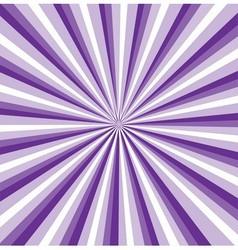 Purple rays background vector