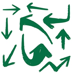 Set of arrow 2 1 vector