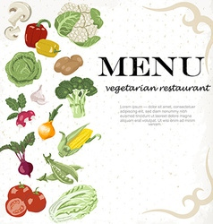 Vegetarian meals are available Vegetable vector