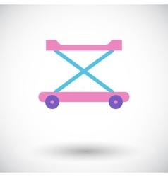 walker baby vector image
