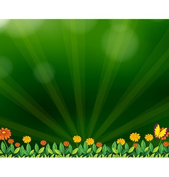A gradient colored background vector image vector image