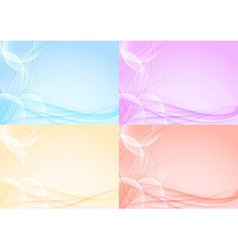 Abstract transparent card template - halftone vector image vector image