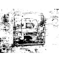 destroy texture 5 vector image