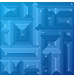 abstract labyrinth background vector image