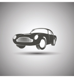 Car logo design Transport vintage vector